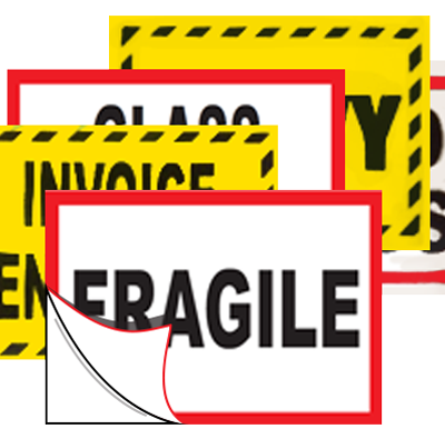 Warning / Identification - Stock Labels
